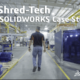 Shred-Tech: A SOLIDWORKS Case Study